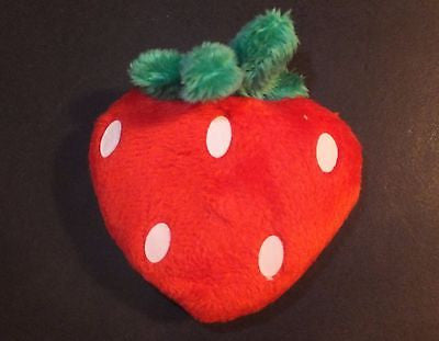 "Strawberry Plush Retractable Small Tape Measure Sewing 60"" Novelty Item"