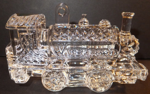 Waterford Crystal 2013 Train Engine Ornament with Enhancer New in Box # 160066