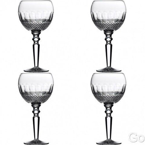 Colleen Encore Goblet Red Goblet 16 oz (4) Four Goblets #135608 New