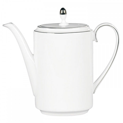 Vera Wang by Wedgwood Blanc Sur Blanc Coffee Pot 1.9 pint NEW with tag