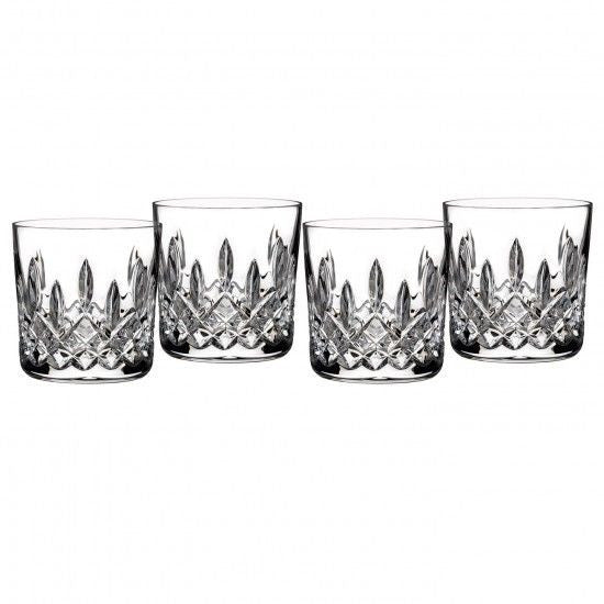 Waterford Classic Lismore 9oz Tumbler Double Old Fashioned Set of 4 New In Box