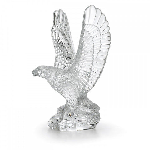 Waterford Fred Curtis 7.5in Eagle Crystal Sculpture Collectible New # 105193