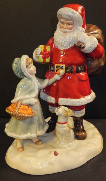 Royal Doulton 2015 A Gift for Santa HN 5733 Christmas Figurine of the Year New