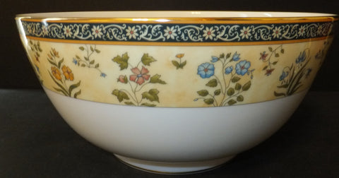 "Wedgwood India Salad Serving Bowl 10"" New With Tag"