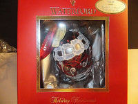 Waterford Holiday Heirlooms Pewter Damask Egg Ornament Brand New Ltd No Edition