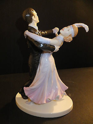 ROYAL DOULTON Dances of the World Dance The Fox Trot Double Couple New In Box