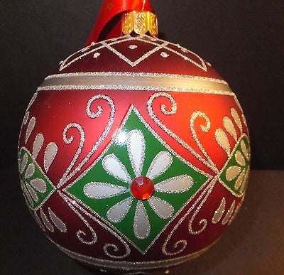 Waterford Aileen Ball Ornament Brand New In Box