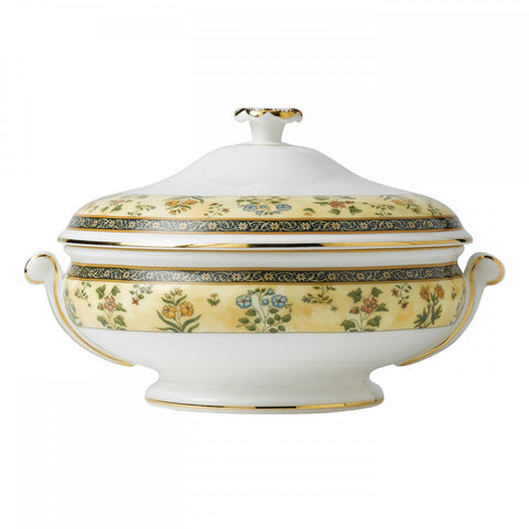 Wedgwood India Covered Vegetable Bowl