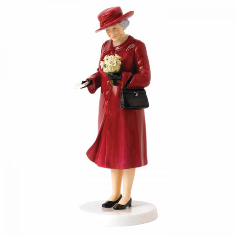 Royal Doulton Celebrating Queen Elizabeth at 90 Birthday Celebration HN 5808