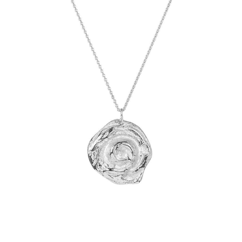 The Little Whirl Pendant (Sterling Silver) Pascale James Jewellery