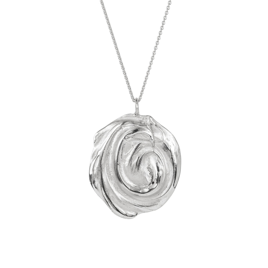 The Endless Whirl Pendant (Sterling Silver) Pascale James Jewellery
