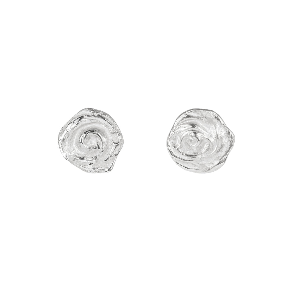 The Little Whirl Earrings (Sterling Silver)