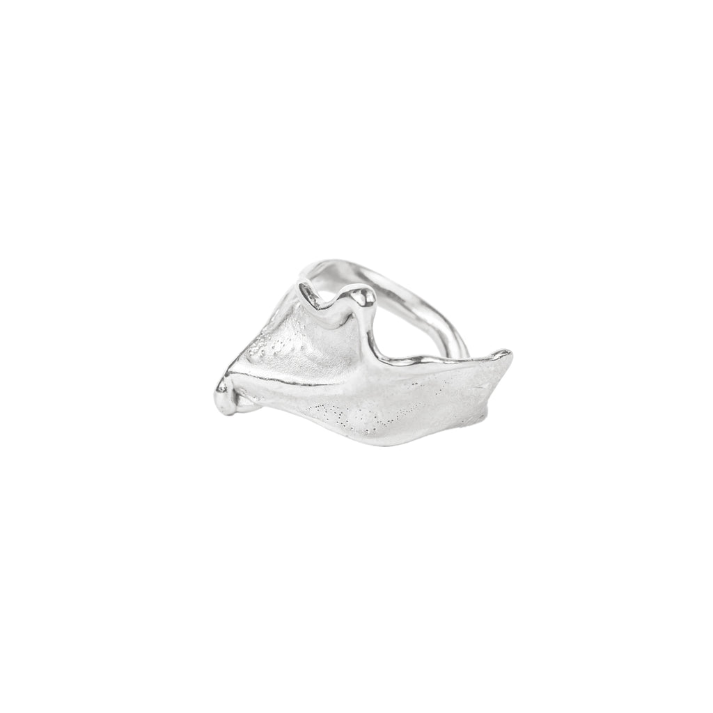 The Folding Wave Ring (Sterling Silver) Pascale James Jewellery