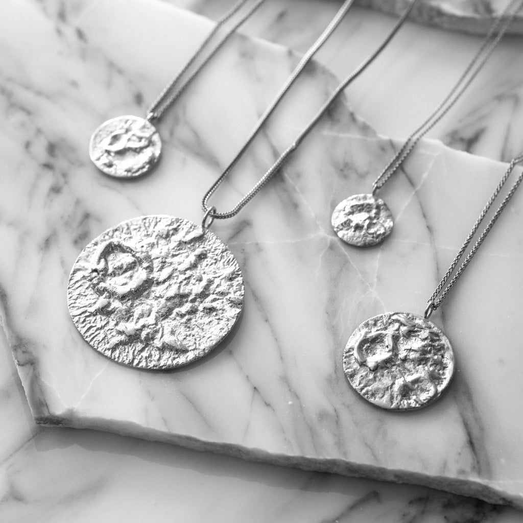 Statement sterling silver jewellery
