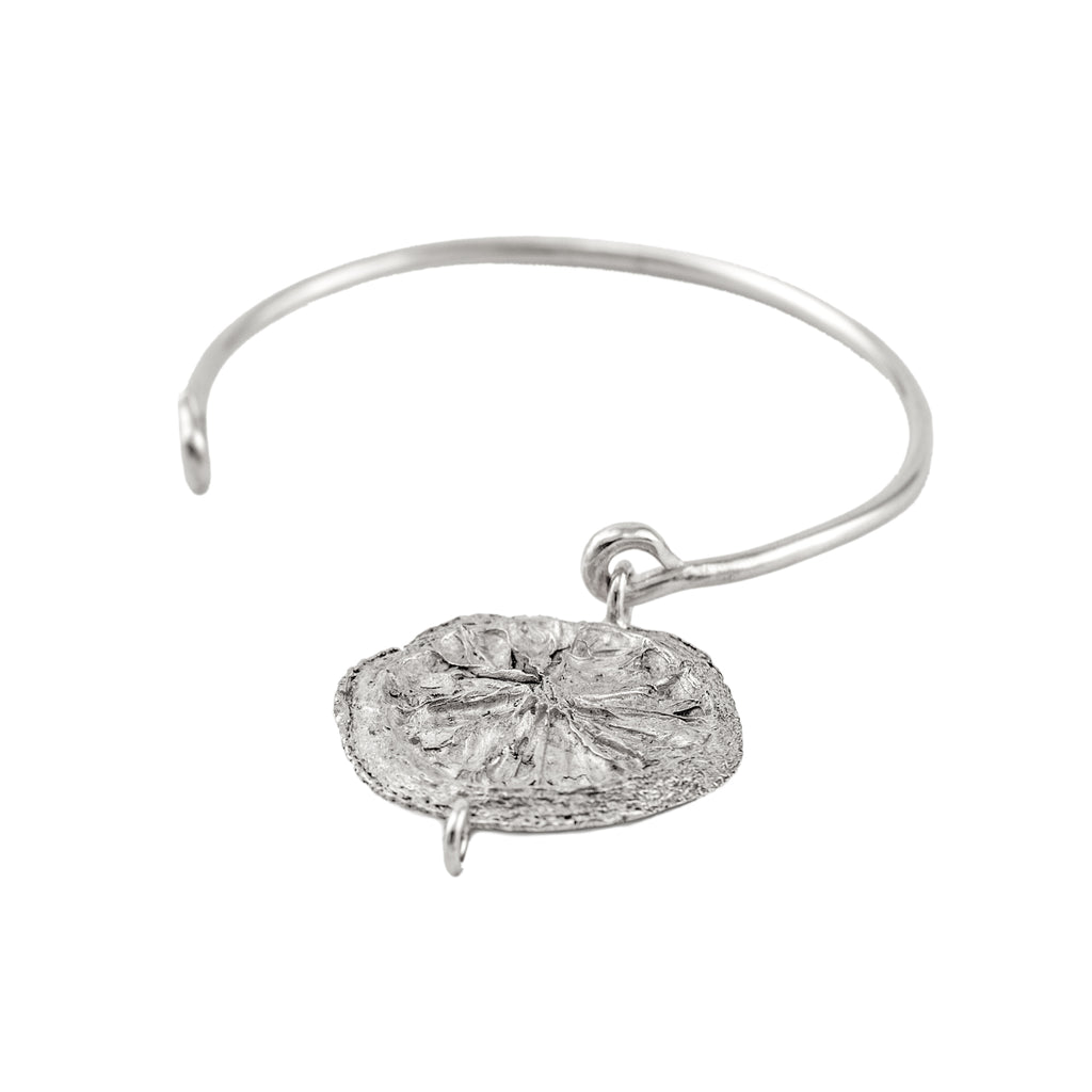 Lemon Slice Bangle (Sterling Silver)