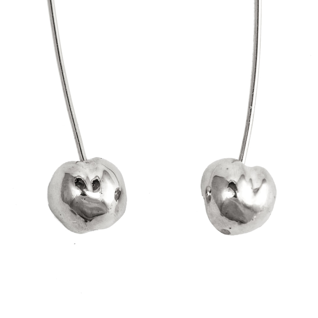 The Cherry Earrings (Sterling Silver)