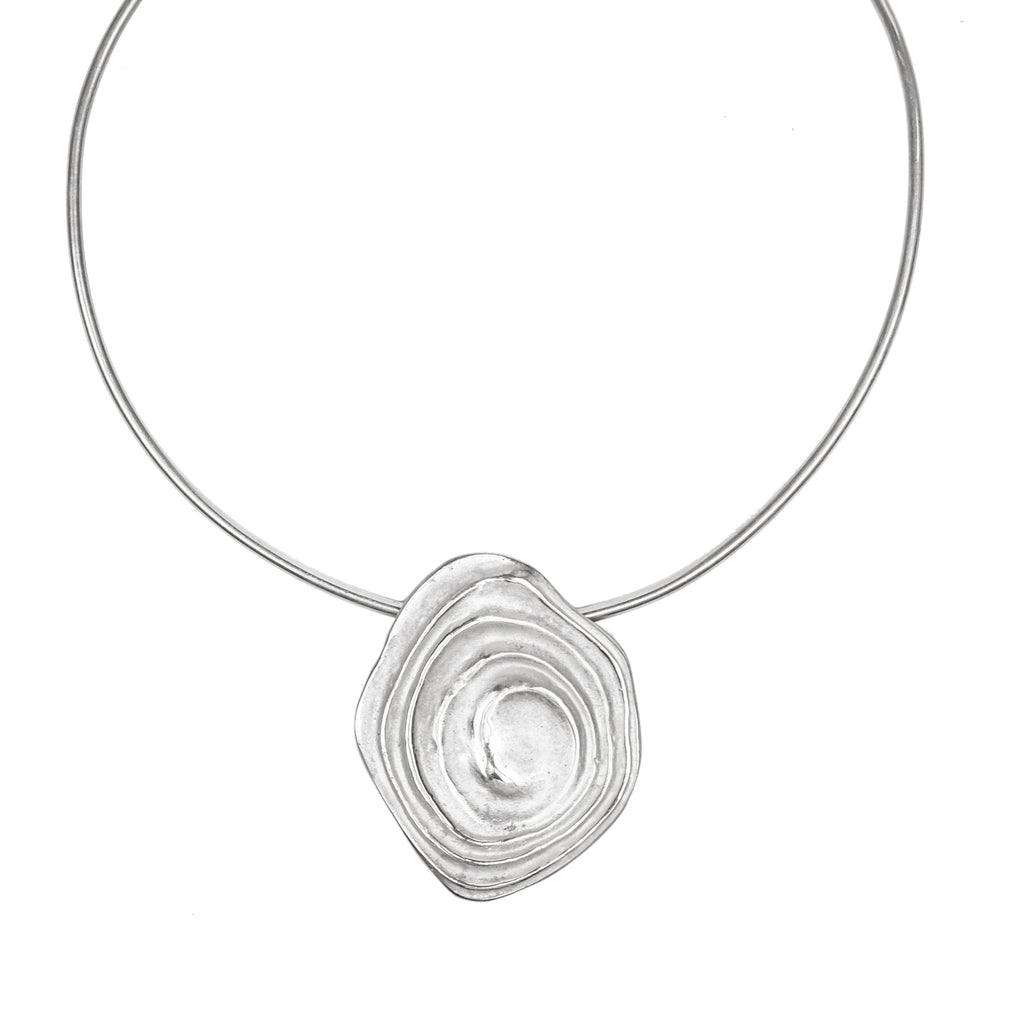The Ripple Choker (Sterling Silver) Pascale James Jewellery
