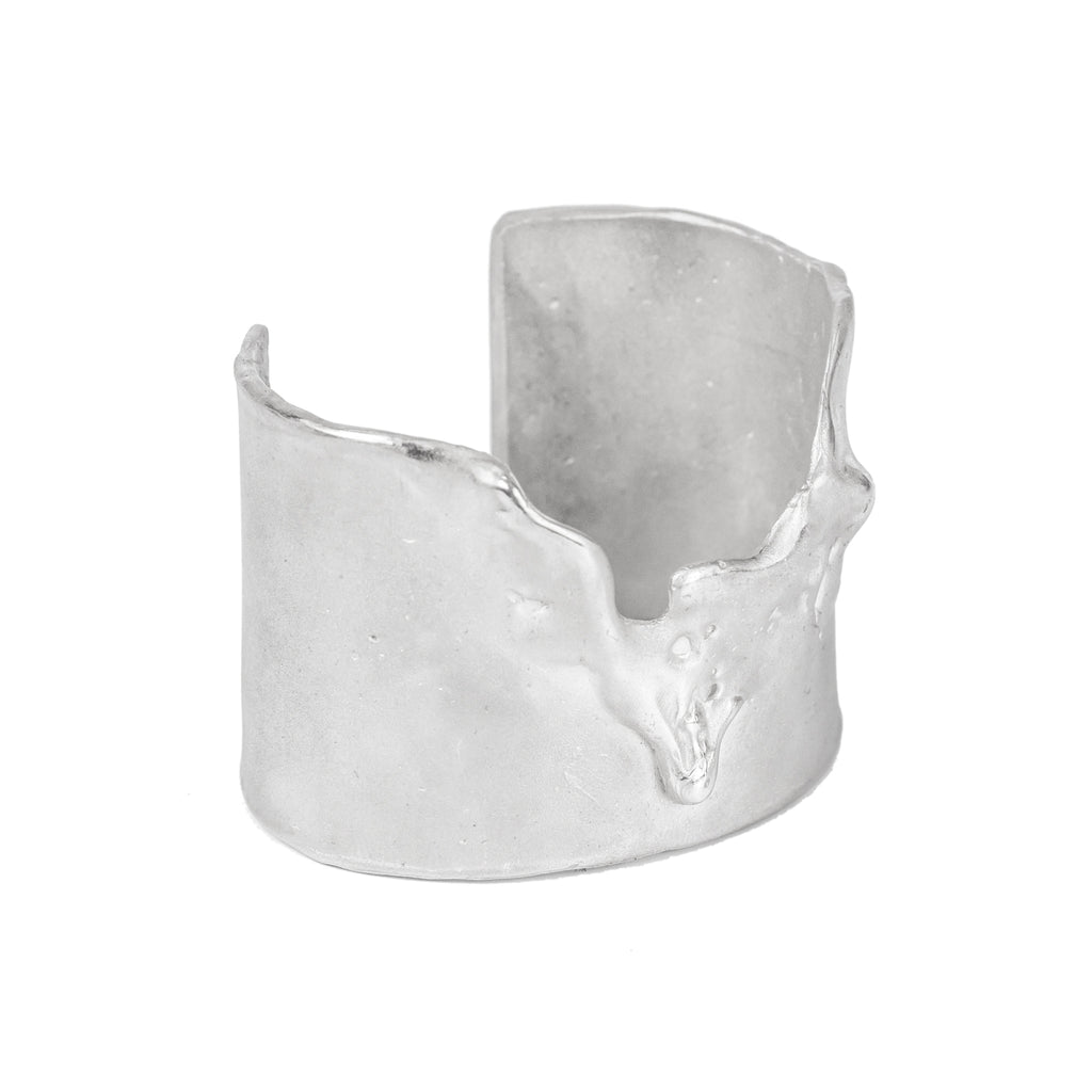 The Dancing Foam Cuff (Sterling Siver) Pascale James Jewellery