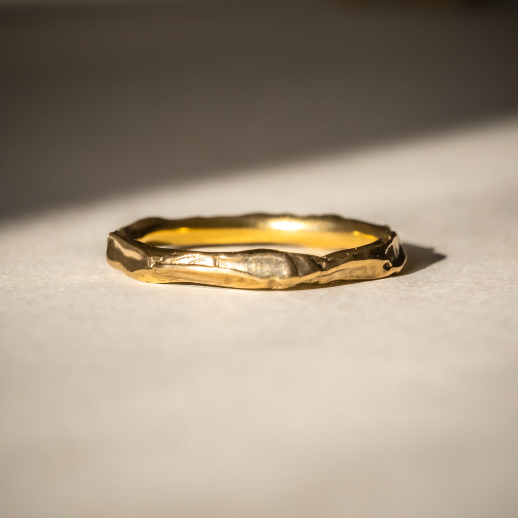 Simple 18ct Fairtrade gold ring