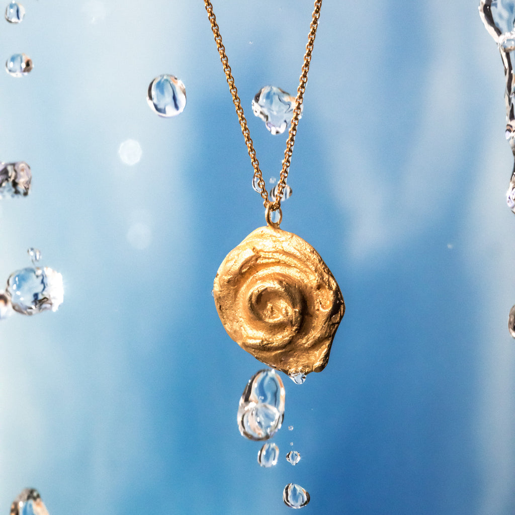The Little Whirl Pendant 18ct Fairtrade Gold