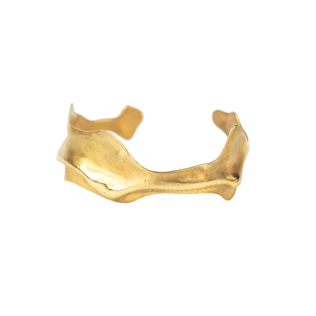 Wave Bangle 18ct Fairtrade Gold