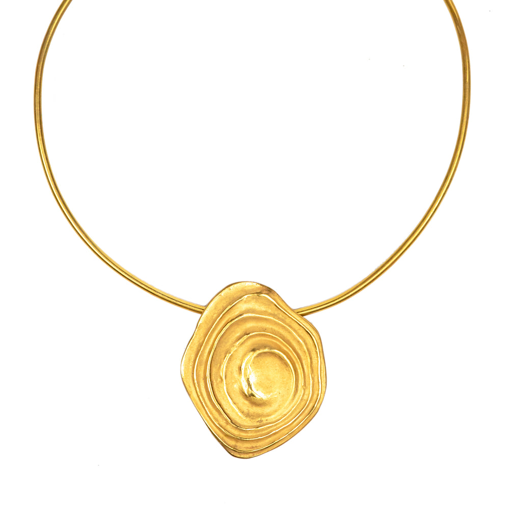 The Ripple Choker (22ct Gold Vermeil)