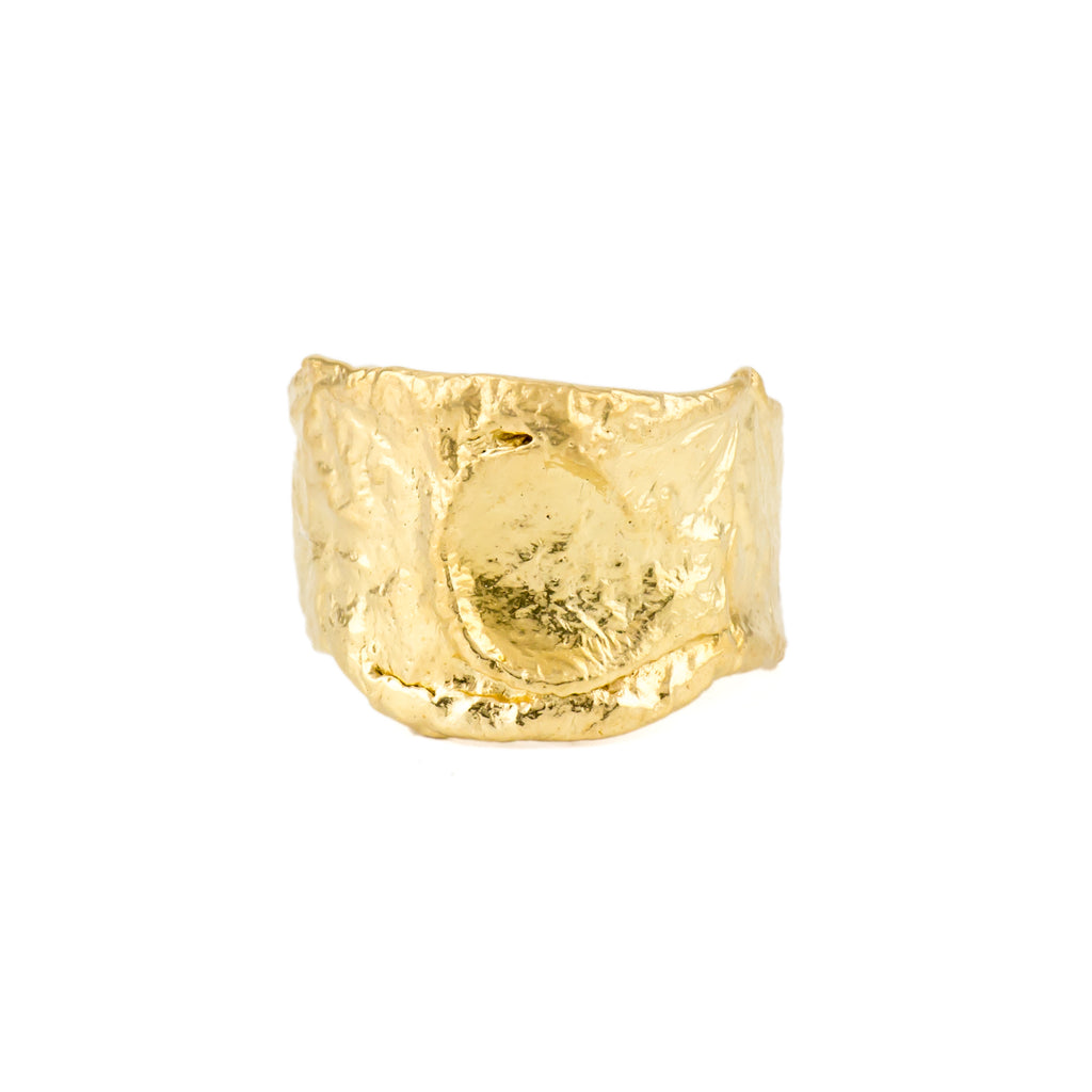 Orogenesis Ring Short 18ct Fairtrade Gold