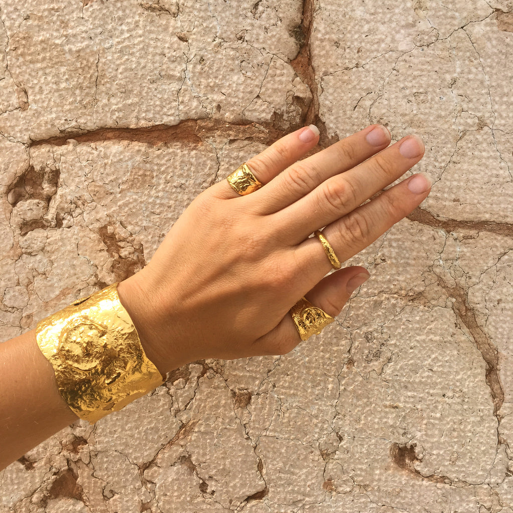 Handcrafted 18ct Fairtrade gold jewellery
