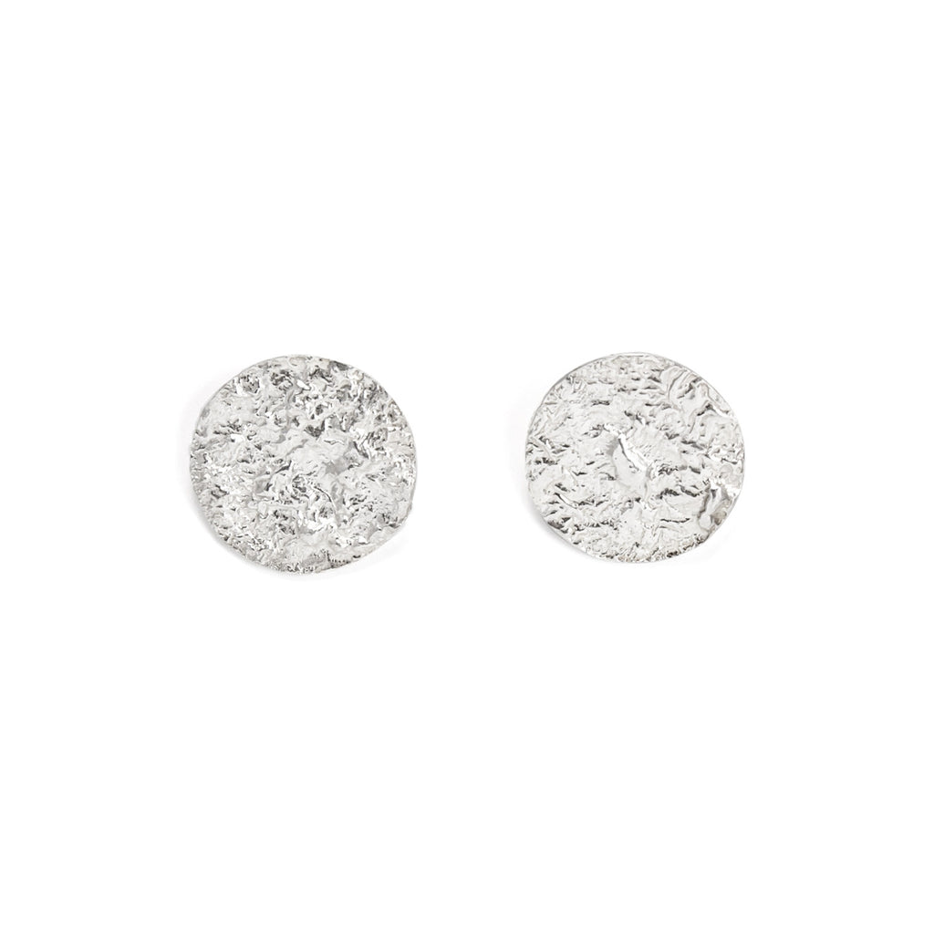 Moon Earrings (Sterling Silver)