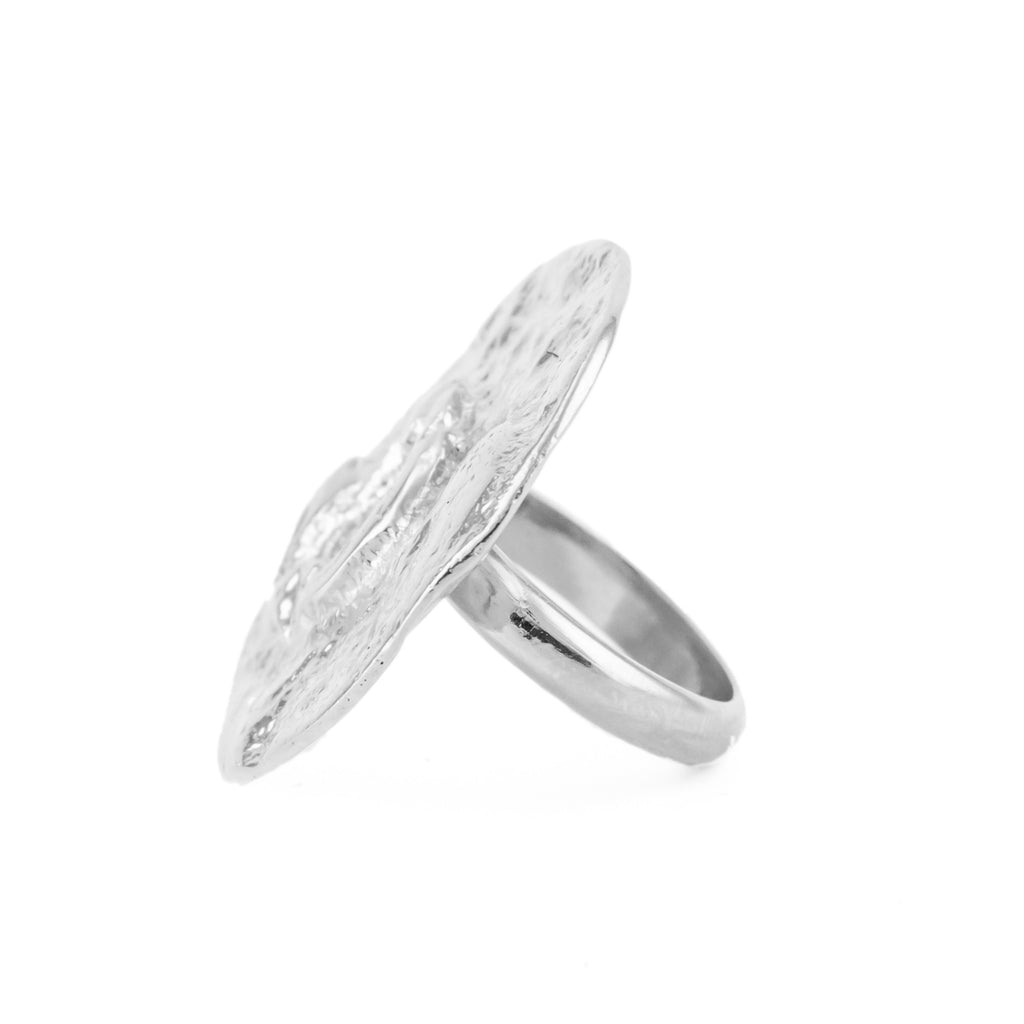 The Moon Ring (Sterling Silver) - Pascale James Jewellery
