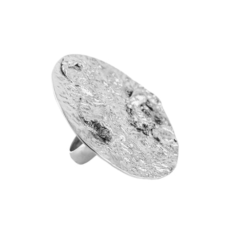 Orogenesis Large Moon Ring (Sterling Silver)