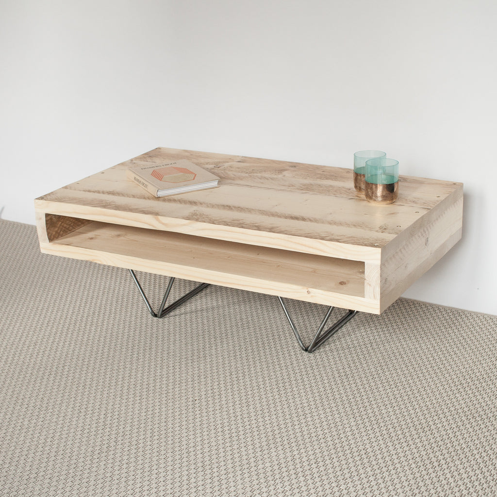 Fabien Industrial Coffee Table