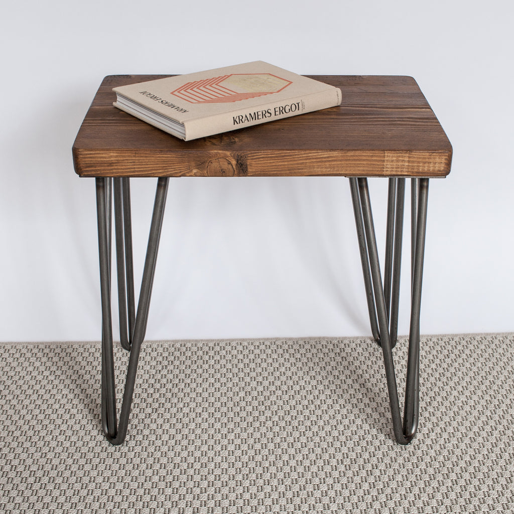 Andy Hairpin Leg Stool - La Maison De Furniture