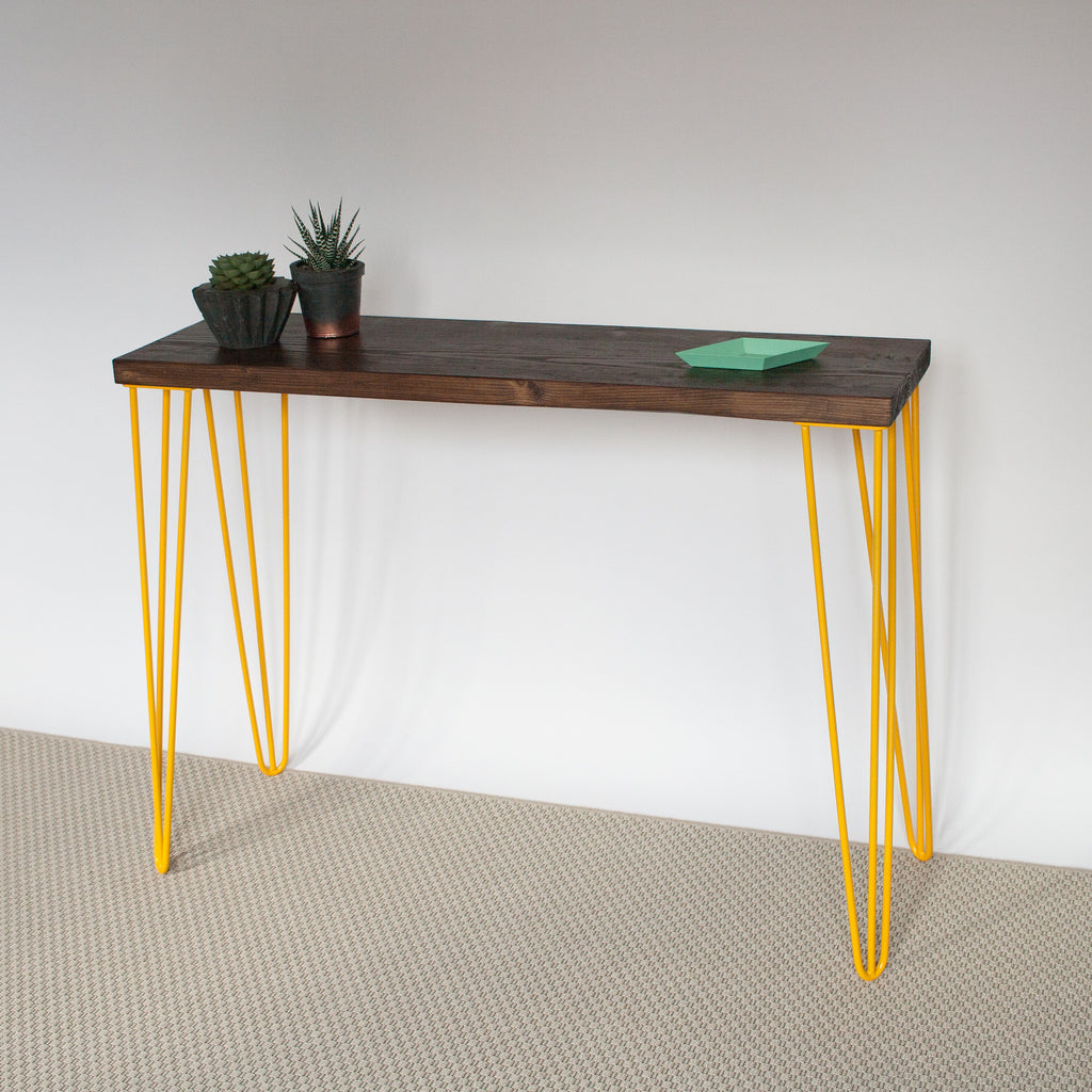 Yamin Hairpin Leg Console Table - La Maison De Furniture