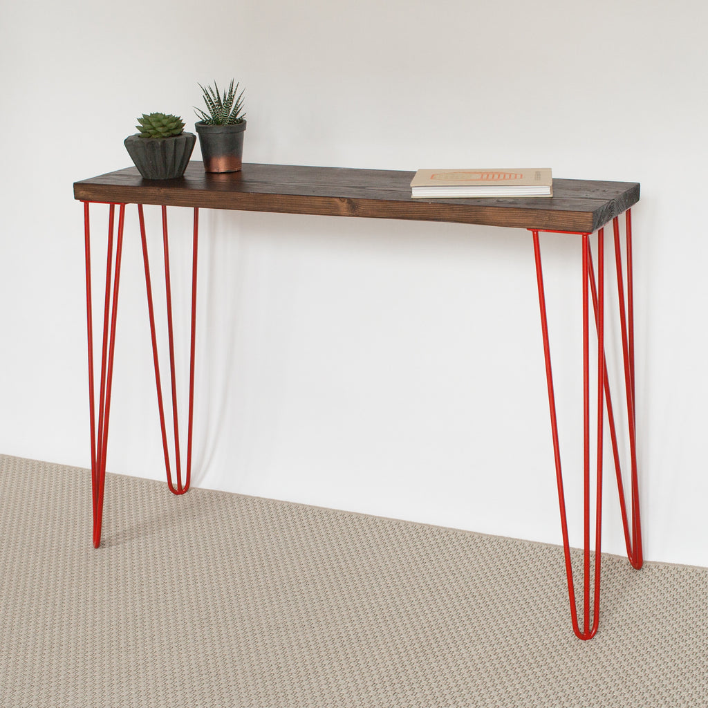 Hairpin Leg Console Table Gallery Decoration Ideas