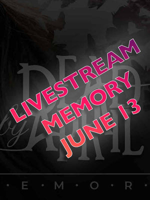 Livestream on June 13