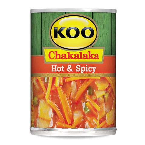 Koo Hot & Spicy Chakalaka - South African Groceries