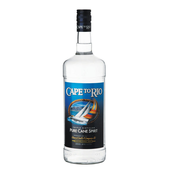 Cape To Rio Pure Cane 750ml (Subscription), Cape To Rio Pure Cane 750ml - Alcoholic Drinks - Barefoot Biltong UK, buy cane online, mainstay cane spirit south africa, cane spirit, cape to rio pure cane spirit, cane spirit south Africa, cape to rio cane spirit, cape to rio vodka, rio alcohol, south African can, biltong shop online