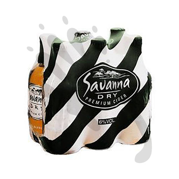 Savanna Dry Cider 330ml - Alcoholic Drinks - Barefoot Biltong UK