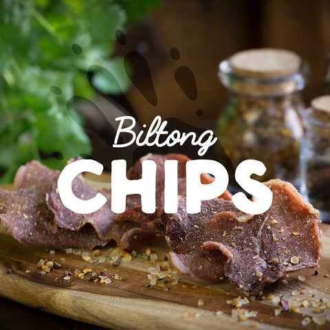 Biltong Chips (Subscription) - Biltong & Droewors* - Barefoot Biltong UK