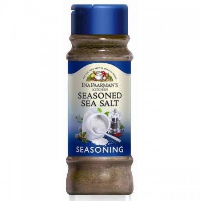 Ina Paarman Seasoning Seasoned Sea Salt 200ml Jar - Spices & Herbs - Barefoot Biltong UK