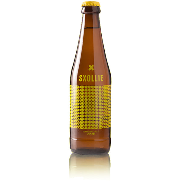 Sxollie Gold Deliciouse Apple Cider 330ml (subscription) - Alcoholic Drinks - Barefoot Biltong UK , Beers of Europe,South African cider, Sxollie cider uk, south african cider uk, sxollie cider where to buy,craft cider,craft cider uk,best ciders uk