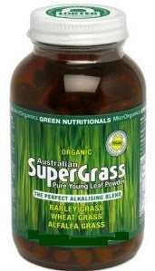 Organic Green Nutritionals Australian Supergrass Powder