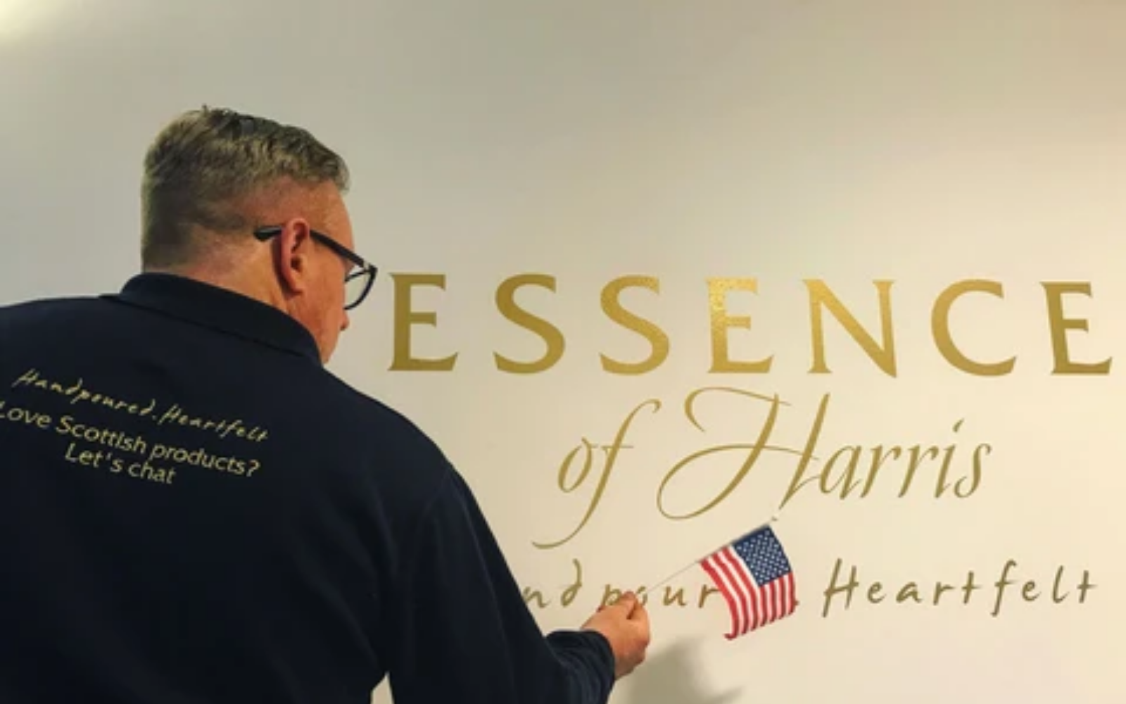 Essence of Harris is heading across the Atlantic!