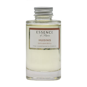 Essence of Harris Huisinis Clear Glass 100ml Reed Diffuser Refill