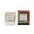 Essence of Harris Huisinis single wick clear glass Candle with matching salmon pink pomelo & sand box