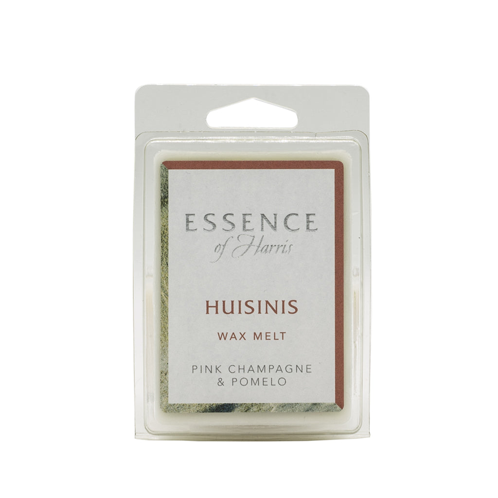 6 cube pink pomelo soy wax melt bar in Essence of Harris Huisinis Scent