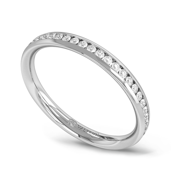 Channel Set Diamond Fairtrade Full Eternity Ring