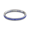 Grain Set Sapphire Eternity Fairtrade Ring