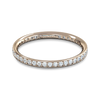 Grain Set Diamond Fairtrade Full Eternity Ring